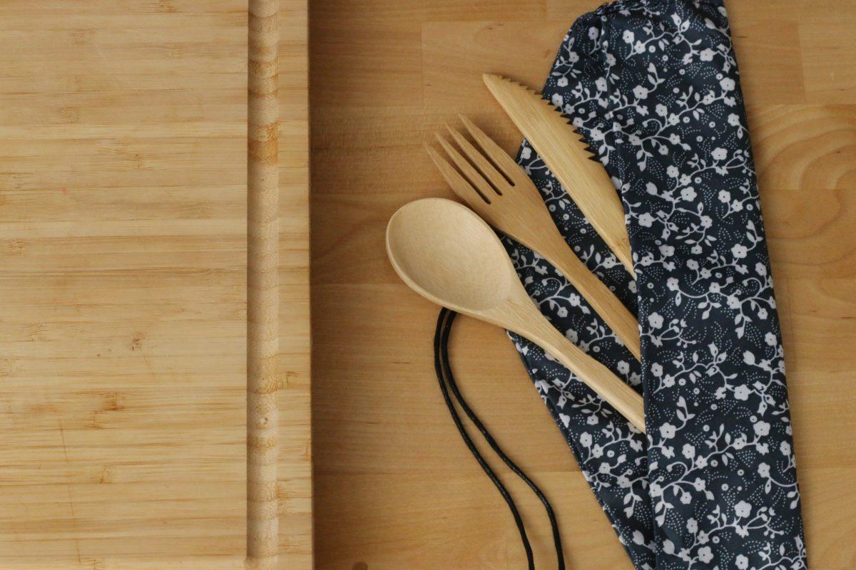 Bambusz evőeszköz