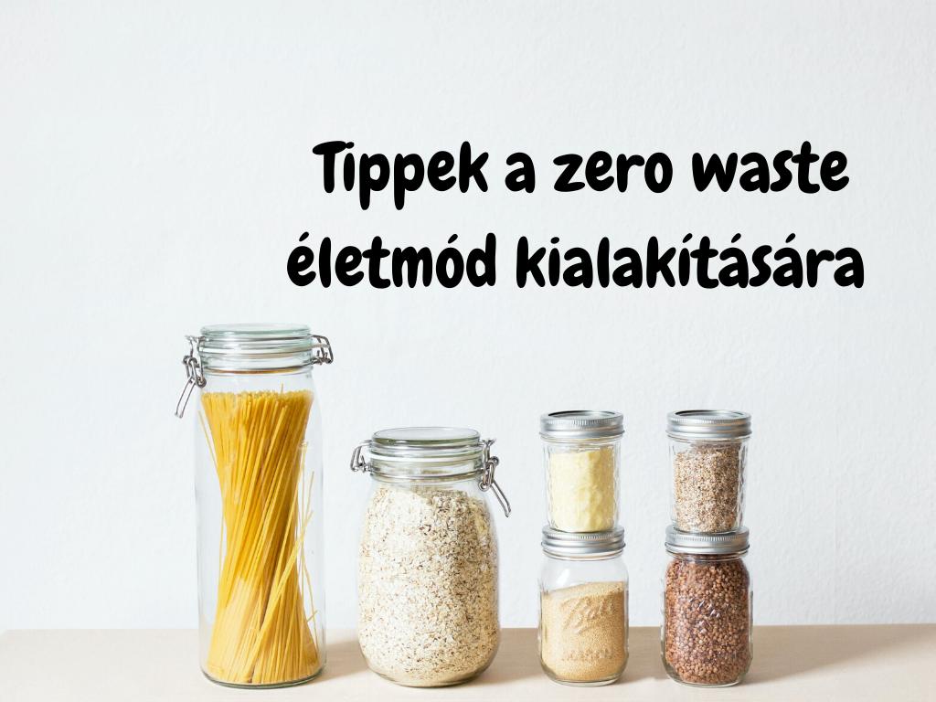 Zero waste életmód